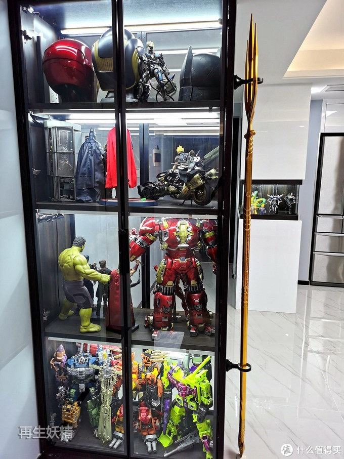 展柜的布置与模玩收藏