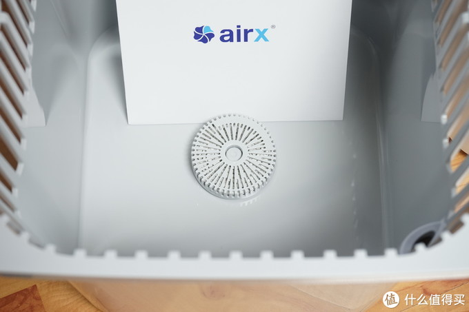 一分为二,空净也变形:1000ml/h无雾加湿的airx A9H加湿净化一体机