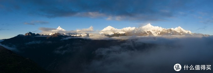 梅里雪山全貌