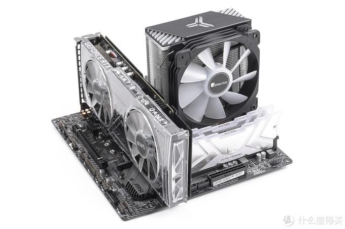 【电脑装机】乔思伯 - UMX4 RGB版 铝镁合金机箱