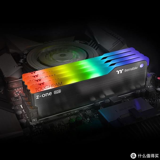 语音可操控灯效:Thermaltake 曜越 发布 ToughRAM Z-ONE RGB系列内存