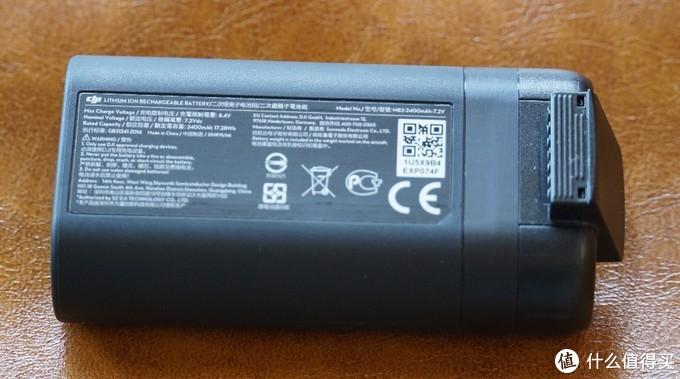 电池2400毫安时,官方宣称30分钟,相当不错的数据了
