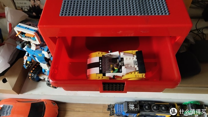 双11第一抢——6000积分免费兑换的LEGO 乐高 ROOM 4095三层抽屉柜