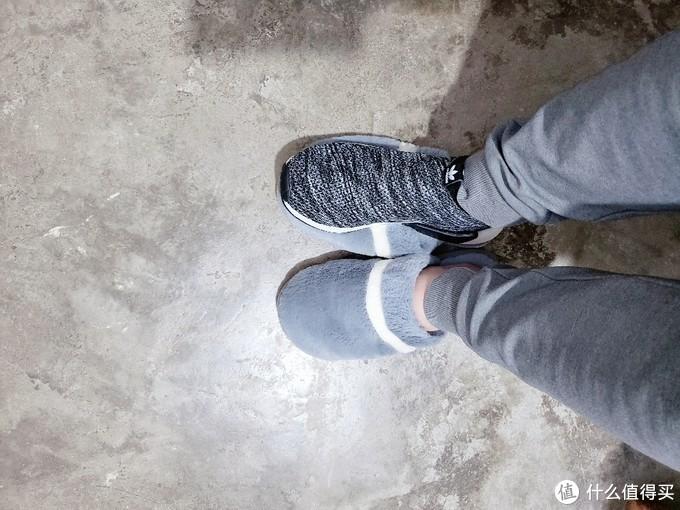 小表弟晒单:迟到的Adidas NMD联名款