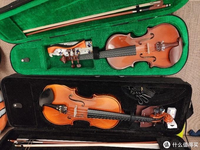 双十二买把琴吧!(和儿子一起买把小提琴)