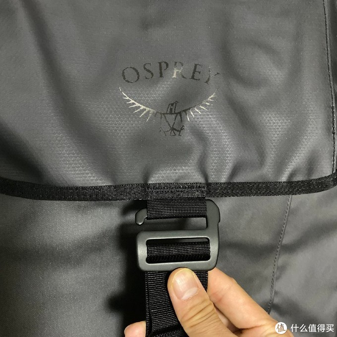 Osprey最潮新款 — Transporter转运者翻盖包开箱