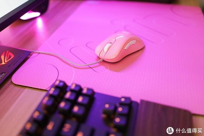 颜值为珍,手感至上——卓威EC2B粉色套装分享