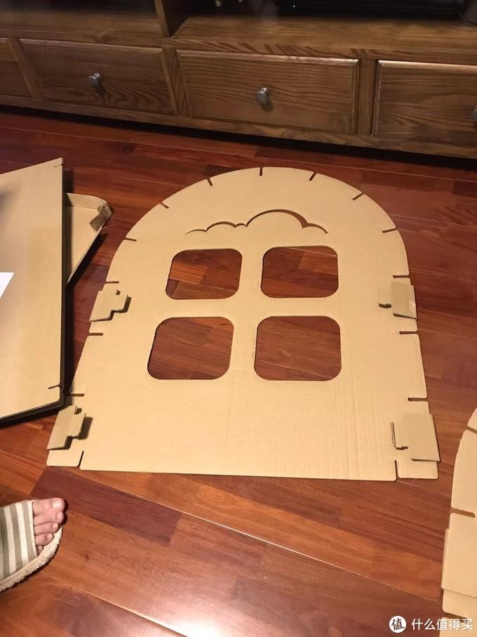 手工组~花20分钟给孩子建个大~房~子~~能让她开心好久好久~