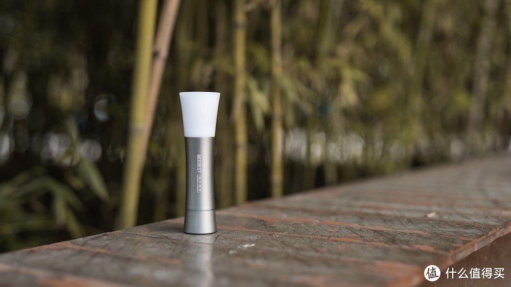小米有品极蜂感应式多功能手电筒,不仅是手电筒还可以当作小路灯
