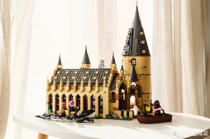 城堡的正面