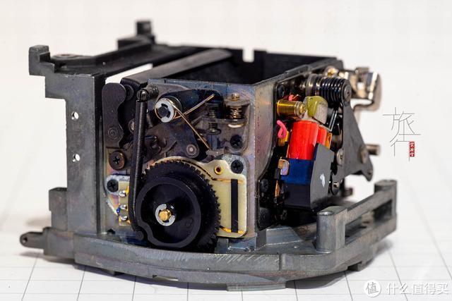 相机曾经和钟表一样,内部有一种机械的美。 旅行实验室拍摄
