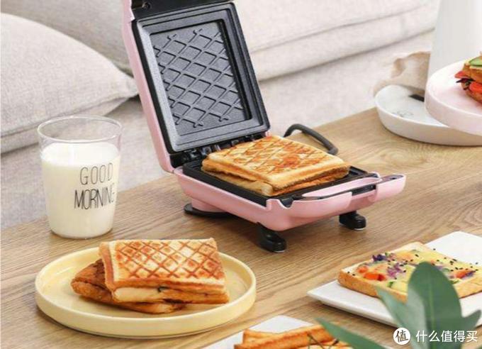 早班别吃煎饼了,有了三明治机,营养早餐只需几分钟