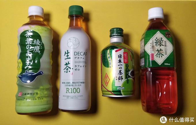 同台竞技,又是无糖茶饮,四款不同品牌进口日系茶饮横向测评总结