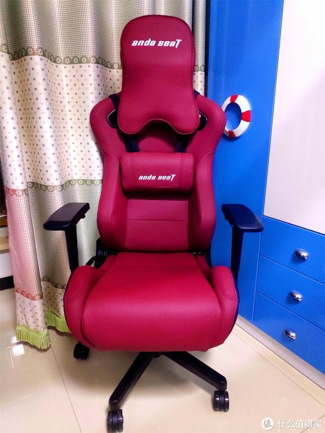 颜值与实力并存,游戏办公两不误,安德斯特电竞椅体验