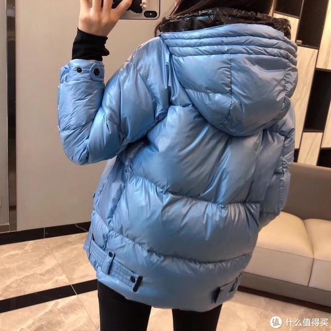 MLIMIDES面包款连帽羽绒服,冬天里的一份喜欢。