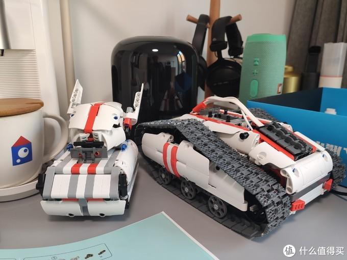 在买玩具这件事上,儿子是用来背锅的,好价入手米兔履带车