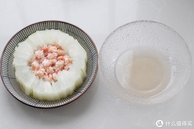 我家冬瓜从来不煮汤,加虾仁上锅蒸一蒸,低油低脂鲜美得不可思议