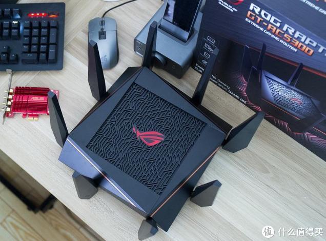 大幅提升游戏网络体验,华硕 ROG GT-AC5300游戏路由展神威