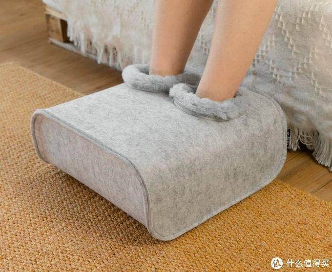 双手感受温暖还不够?小米有品上线沙感暖脚器,给双脚不一样的柔软