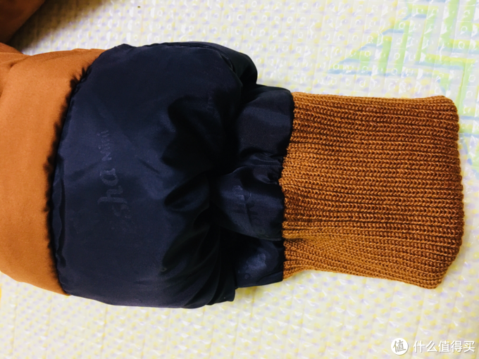 温暖过冬 晒一晒娃的笛莎中长款羽绒服
