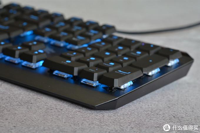 """MSI GK50LP矮轴更偏办公的机械键盘,键帽的特立独""""型"""" 难为了第三方厂商"""