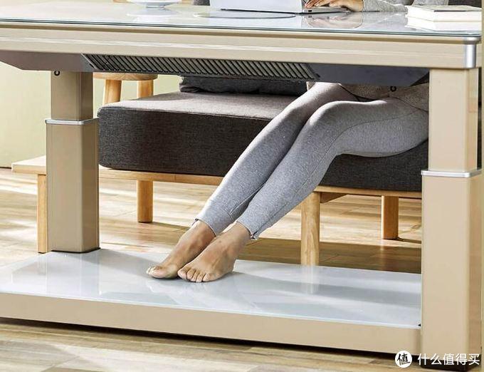 能煮火锅的暖脚神器?小米有品上架智能升降取暖桌