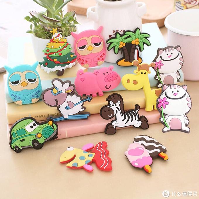 冰箱磁贴也可以当玩具—给宝宝的可爱卡通磁力贴(10片装*2组)