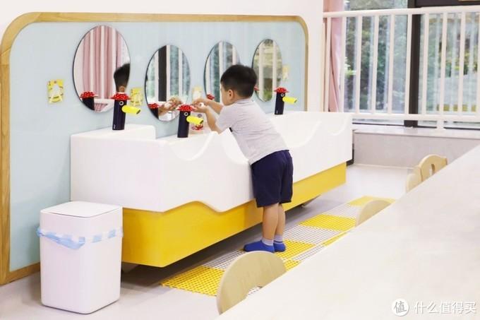 很Q的儿童卫浴听过吗?误闯小人国,幼儿园来一波测评!(洁利来儿童卫浴测评)
