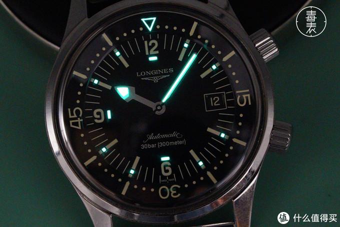 浪琴传奇蛙人——Legend Diver潜水机械表