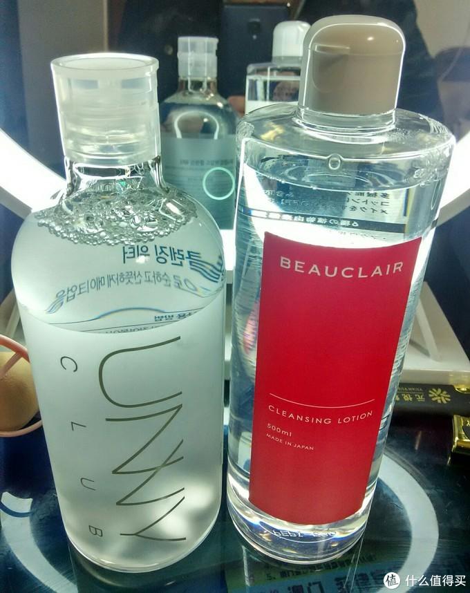 悠宜(UNNY)卸妆水 VS. 雪美清(Beauclair)杨桃水
