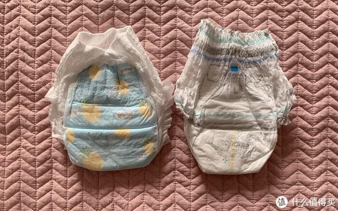 帮宝适背面有胶条可收纳整理拉拉裤干净卫生