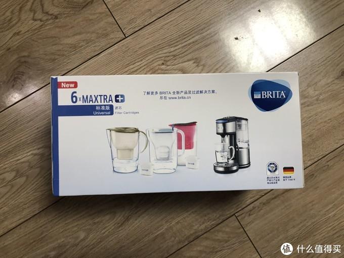 双十二健康饮水再囤货—BRITA碧然德Maxtra三代滤芯(标准版,6支装×2组)
