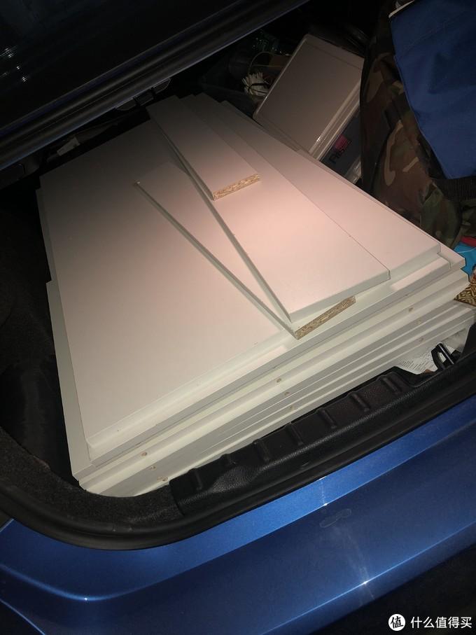 柜子板材,差不多150斤