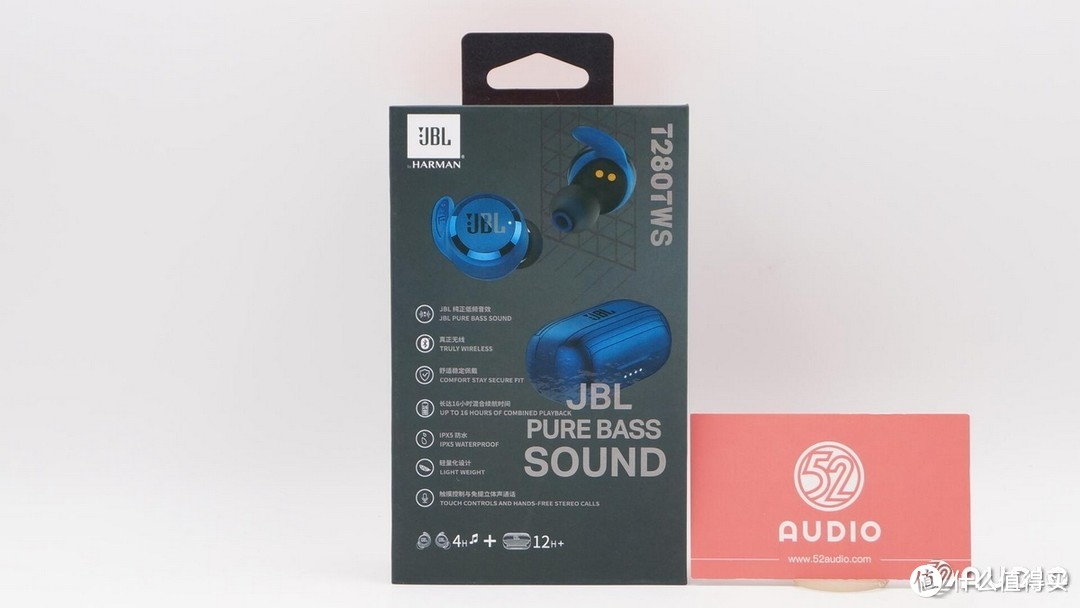 拆解报告:JBL T280TWS 真无线入耳式耳机