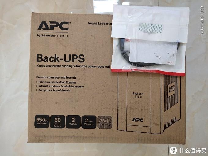 后备式电源APC BX650CI-CN失败的开箱晒物及换货流程