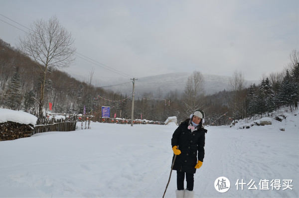 哈尔滨雪乡穿越,羊草山顶看日出