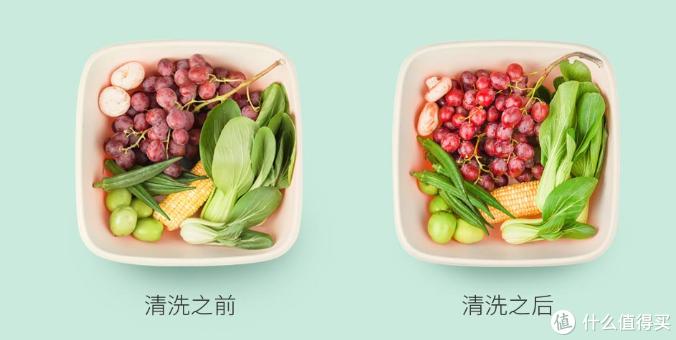 """智能产品清洗果蔬靠谱吗?!小米有品上架果蔬净化器,去农药靠""""王者"""""""