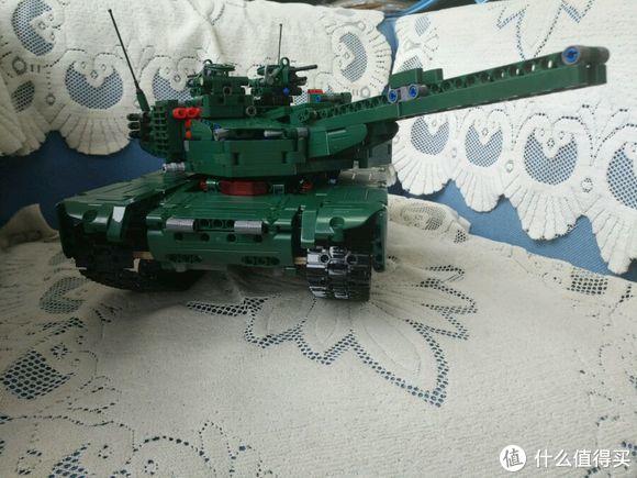 终于还是忍不住剁手 双鹰咔搭 遥控积木坦克M1A2 堪比乐高C61001