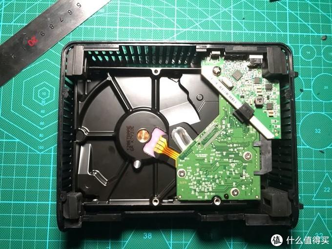 西数WD Elements 8T硬盘盒换装1T蓝盘
