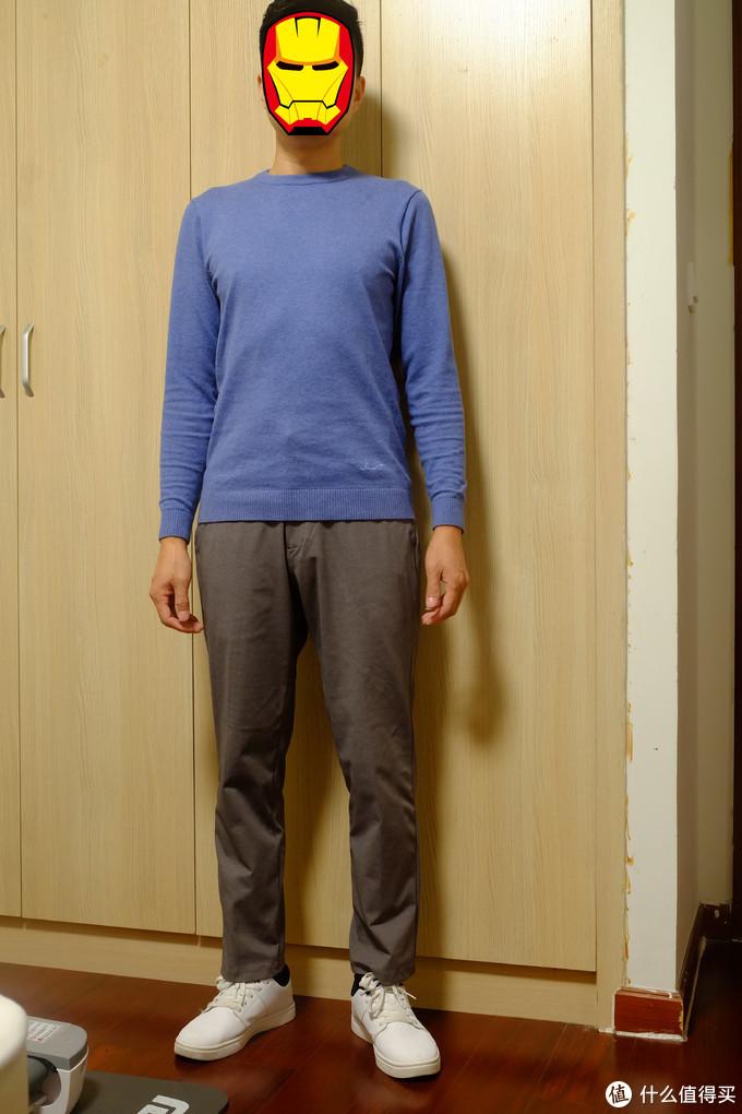 双十二的战果:三件优衣库及森马的九分裤