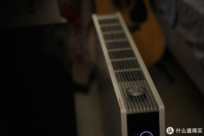 未达到设定湿度,电暖器就会自动开启加湿模式。