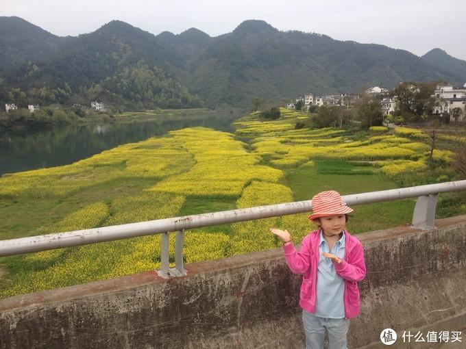 4周岁带出去新安江徒步的大女儿