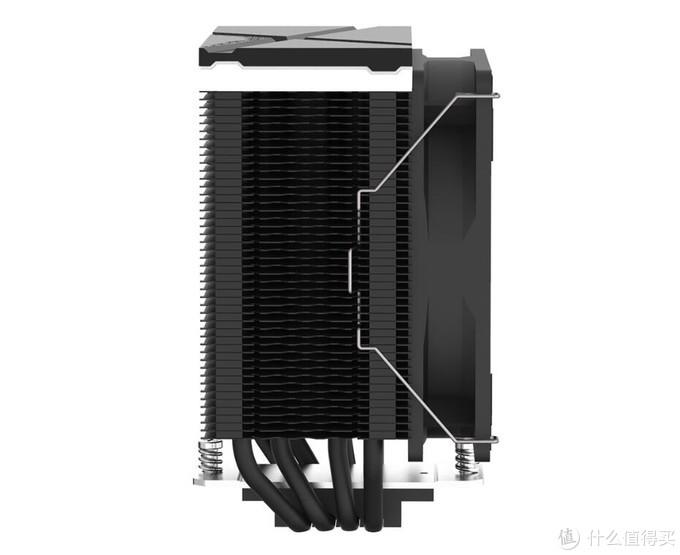 纯黑紧凑单塔风冷:ID-Cooling 发布 SE-234 ARGB 塔式风冷散热器