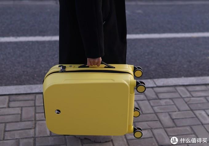 智能轻便的潮人之选——美炫智能旅行箱体验