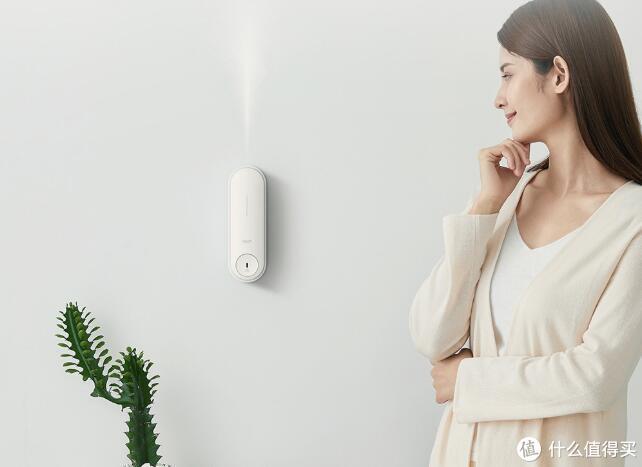小米有品推出自动喷香机,实时焕新空气,可为家里增添芬芳