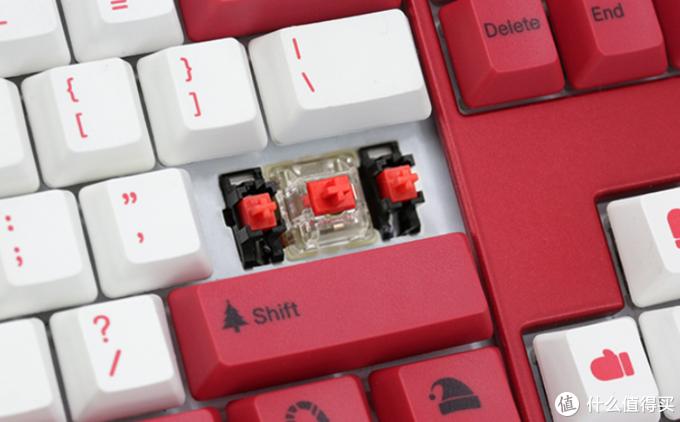 漂亮的圣诞元素:阿米洛xDucky 推出Shine 7 圣诞主题 联名款键盘