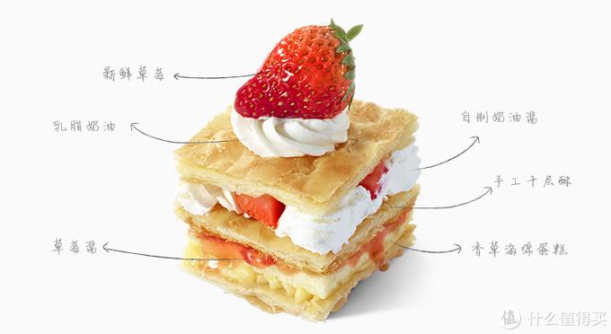 incake 草莓拿破仑测评