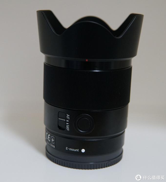 Sony 索尼 FE35mmF1.8 拆箱