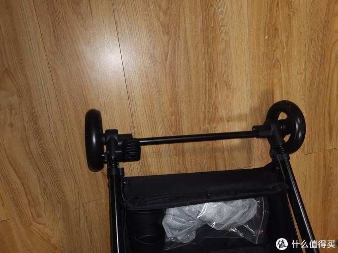 刹车和下面的置物篮