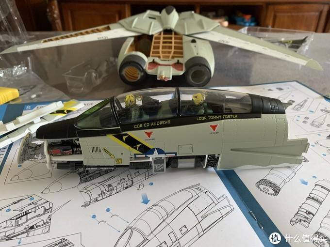 可能是全网首晒--4D Master F-14A JOLLY ROGER VF-84海盗旗中队